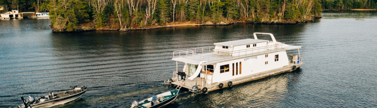 Cruising Lake of the Woods in Ontario with Houseboat Adventures Inc.