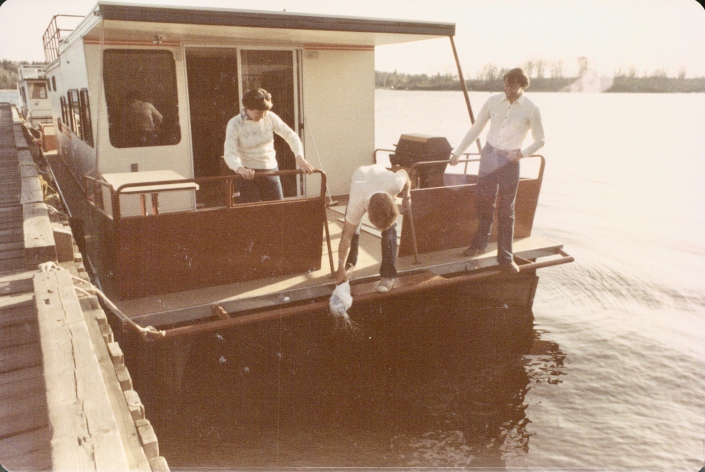 Houseboat Adventures launches their first houseboat to be located on Lake of the Woods in May 1983