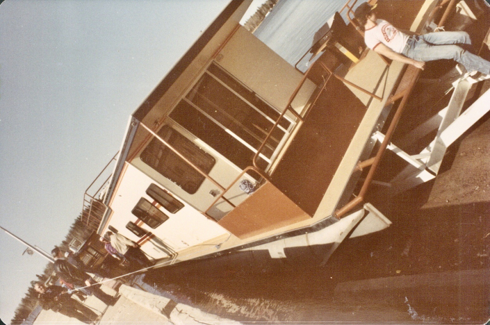 We launched Charlie C in May of 1983 our first season on Lake of the Woods.