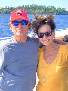 Even the owners can enjoy a 68 foot houseboat getaway on Lake of the woods