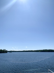 Beautiful Summer Lake of the Woods